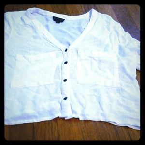 Top Shot crop top Size M